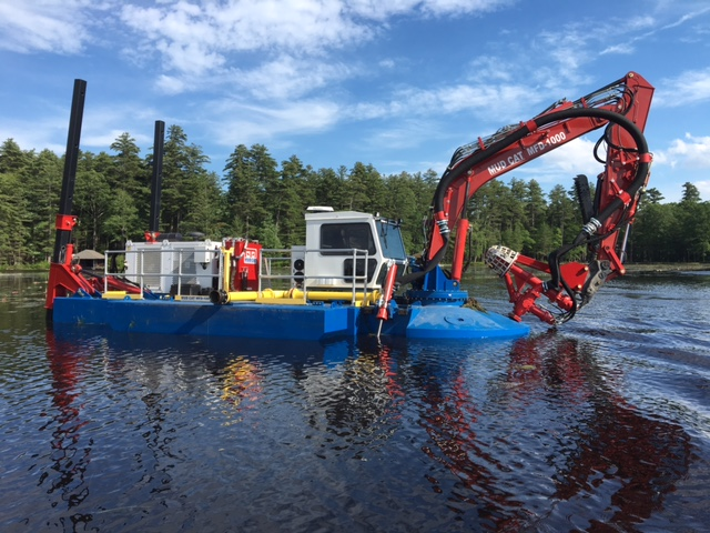 Mud Cat MFD to Clean and Maintain Multiple Lakes in the Northeast U.S.